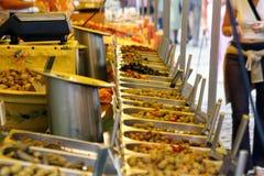 Nahrungsmittelströmungsabriß Lizenzfreie Stockbilder