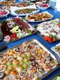 Nahrungsmitteltabelle Lizenzfreie Stockfotos