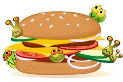 Nahrungsmittelvergiftung lizenzfreie abbildung