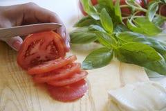 Nahrungsmittelvorbereitung Lizenzfreies Stockfoto