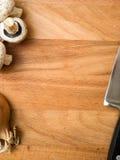 Nahrungsmittelvorbereitungshintergrund Lizenzfreie Stockfotografie