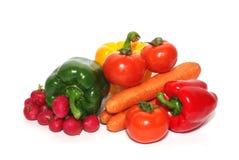 Nahrungsmittelzusammenstellung Stockfotos
