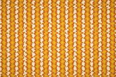 Nahtlos auf gelbem Muster Lizenzfreie Stockbilder