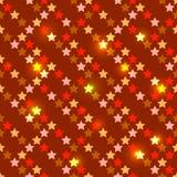 Nahtlos mit glänzenden Sternen stock abbildung