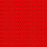 Nahtlos mit roten Verzierungen Stockbild