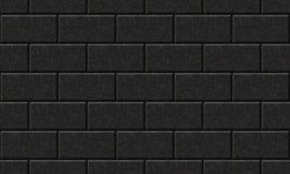 Nahtlos schwarze Wand. Stockfotos