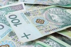 Nahtlos wiederholbares 100's PLN Lizenzfreies Stockbild
