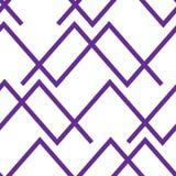 Nahtlose abstrakte horizontale Linien Muster-Hintergrund lizenzfreie abbildung