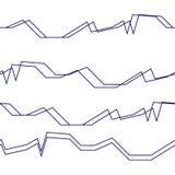 Nahtlose abstrakte horizontale Linien Muster-Hintergrund vektor abbildung