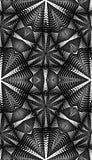 Nahtlose abstrakte Linie Muster im Schwarzen Lizenzfreies Stockfoto
