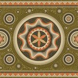 Nahtlose abstrakte Mosaik- Grenze der Mustermosaikbeschaffenheit lizenzfreie abbildung