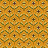 Nahtlose abstrakte Vektormuster-Ananasbeschaffenheit Lizenzfreies Stockfoto