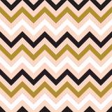 Nahtlose abstrakte Zickzacklinie Muster stock abbildung
