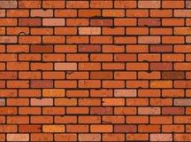 Nahtlose Backsteinmauer Stockfotos