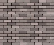 Nahtlose Backsteinmauer Es kann für Leistung der Planungsarbeit notwendig sein stock abbildung