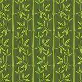 Nahtlose Bambustapete stock abbildung