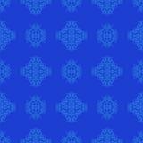 Nahtlose Beschaffenheit auf Blau Element für Entwurf Stockfotografie