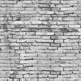 Nahtlose Beschaffenheit der alten Backsteinmauer Stockbild