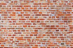 Nahtlose Beschaffenheit der alten Backsteinmauer Stockfoto