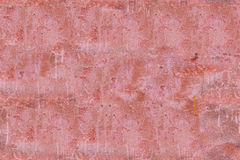 Nahtlose Beschaffenheit der alten schmutzigen roten Zementwand Stockbilder