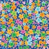 Nahtlose Beschaffenheit der Blumentapete Stockfotos
