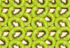 Nahtlose Beschaffenheit der grünen Kiwi Lizenzfreies Stockbild