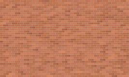 Nahtlose Beschaffenheit der modernen industriellen Backsteinmauer Stockbilder