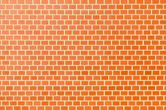 Nahtlose Beschaffenheit der Wand des roten Backsteins Stockfotos