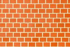 Nahtlose Beschaffenheit der Wand des roten Backsteins Lizenzfreie Stockfotos