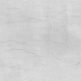 Nahtlose Beschaffenheit der weißen gebrochenen Wand Weiß vergipste raue Wand mit Sprüngen Lizenzfreie Stockfotografie