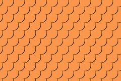 Nahtlose Beschaffenheit des braunen Dachs Lizenzfreie Stockbilder