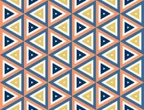 Nahtlose Beschaffenheit des Dreiecks Lizenzfreies Stockbild
