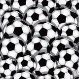 Nahtlose Beschaffenheit des Fußballs Lizenzfreies Stockbild