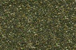 Nahtlose Beschaffenheit des grünen Tees stockfotografie
