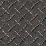 Nahtlose Beschaffenheit des Metalls Lizenzfreies Stockfoto