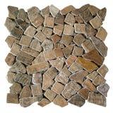 Nahtlose Beschaffenheit des Mosaiks Stockbilder