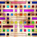 Nahtlose Beschaffenheit von abstraktem glänzendem buntem Lizenzfreie Stockbilder