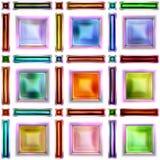 Nahtlose Beschaffenheit von abstraktem hellem glänzendem buntem Lizenzfreie Stockfotos
