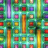 Nahtlose Beschaffenheit von abstraktem hellem glänzendem buntem Stockbilder