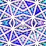 Nahtlose Beschaffenheit von abstrakten hellen glänzenden bunten geometrischen Formen Stockfotos