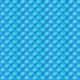 Nahtlose blaue Flussfischschuppen Stockfoto