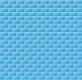 Nahtlose blaue Wand-Fliesen Stockfoto