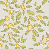 Nahtlose Blumen Lizenzfreie Abbildung