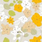 Nahtlose Blumen Stock Abbildung