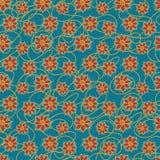 Nahtlose Blumen Stockfoto