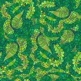 Nahtlose Blumenzusammenfassung Lizenzfreies Stockfoto