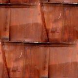 Nahtlose braune abstrakte Schmutzbeschaffenheit mit Sprüngen Lizenzfreies Stockfoto