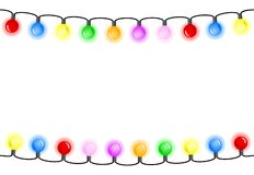Nahtlose bunte Lichterketten vektor abbildung