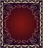Nahtlose dekorative Tapete stockfotografie