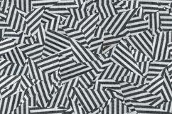 Nahtlose diagonale Anschläge der Weinlese in Schwarzweiss Stockbilder